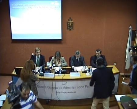 Ponecia Aula Colmeiro. - O futuro da pesca europea